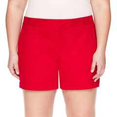 Plus Size Red Shorts for Women - JCPenney