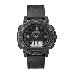 Timex Mens Black Strap Watch-Tw4b008009j