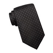 Collection by Michael Strahan Dot Silk Tie - Extra Long