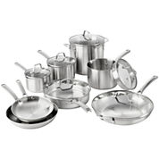 Calphalon® Classic 14-pc. Stainless Steel Cookware Set