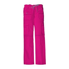 Dickies® Womens Youth Cargo Scrub Pants–Petite Plus