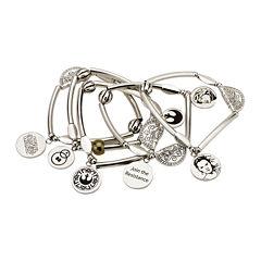 Star Wars® Stainless Steel Rey Stretchable Bracelet