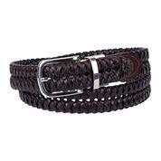 Stafford® Basketweave Dress Braid Reversible Belt - Big & Tall