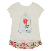 Disney Girls Disney Princess Graphic T-Shirt-Big Kid