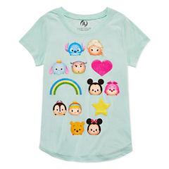 Disney Short Sleeve Tsum Tsum T-Shirt-Big Kid Girls