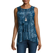 Alyx Asymmetrical Tie Dye Top