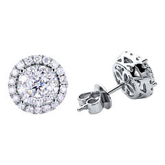 Brilliant Dream™  1/2 CT. T.W. Round Diamond Stud Earrings
