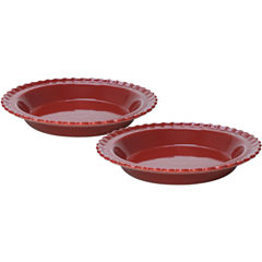 "Chantal® 2-pc. 9"" Classic Pie Dish Set"