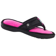 Isotoner Matte Luna Thong Slippers