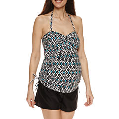 a.n.a Diamond Tankini Swimsuit Top or Boyshort-Maternity