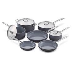 GreenPan Paris Pro 11-pc. Hard Anodized Non-Stick Cookware Set