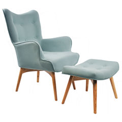 Chair + Ottoman Set
