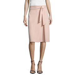Worthington Belted Full Skirt