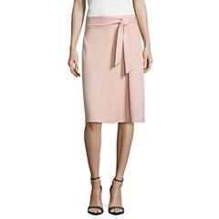 Worthington Belted Skirt