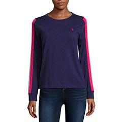 Us Polo Assn. Long Sleeve Crew Neck T-Shirt