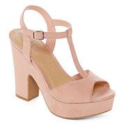 a.n.a® Valerie T-Strap Platform Sandals