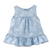 OshKosh B'gosh® Woven Tank Top - Baby Girls newborn-24m