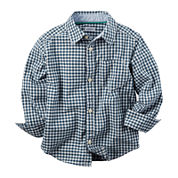 Carter's® Long-Sleeve Plaid Woven Shirt - Preschool Boys 4-7
