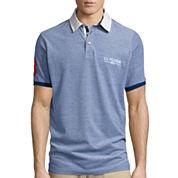 U.S. Polo Assn.® Short-Sleeve Two-Tone Pique Polo