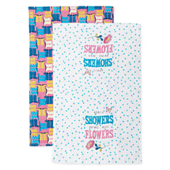 JCPenney Home April Showers Bring May Flowers 2-pc. Kitchen Towel
