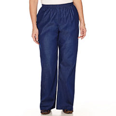 Alfred Dunner® Chambray Pull-On Pants - Plus (29.5