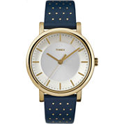 Timex Womens Blue Strap Watch-Tw2r276009j