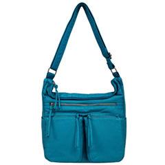 St. John's Bay Multi Pocket Hobo Bag