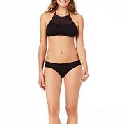 a.n.a® Mix & Match Crochet High-Neck Swim Top or Crochet Side-Tie Hipster Swim Bottoms