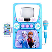 Frozen Deluxe Karaoke Machine, Mic and CD