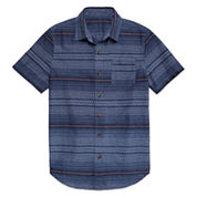 Arizona Boys Short-Sleeve Woven Shirt - Preschool 4-7