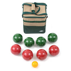 Lion Sports Bocce Ball Set 107 Mm Ball with Tape Measure And Carry Bag