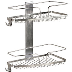 FineLine Two-Tier Shower Basket