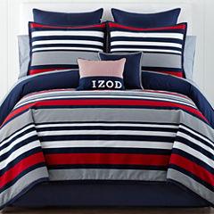 IZOD® Varsity Stripe Comforter Set & Accessories