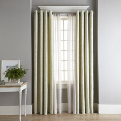 MarthaWindow™ Intertwine Grommet Top Curtain Panel