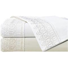 Cathay Home Elegant Lace Sheet Set