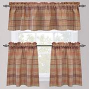 Park B. Smith Sumatra Rod-Pocket Kitchen Curtains