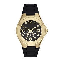 Womens Black Strap Watch