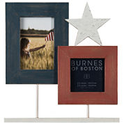 Fourth of July Star Pedestal Collage Picture Frame