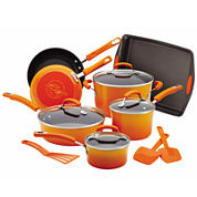 Rachael Ray® Porcelain II Nonstick 14-pc.Cookware Set with Bakeware and Tools