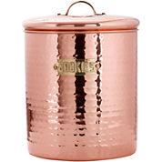 Old Dutch International® Décor Hammered Copper Cookie Jar