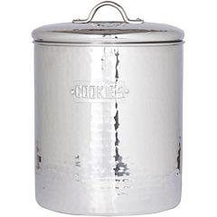 Old Dutch International® Hammered Stainless Steel Cookie Jar