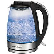 Hamilton Beach® 1.7-Liter Glass Electric Kettle