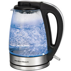 Hamilton Beach® 1.7-Liter Glass Electric Kettle