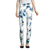 Mixit Floral Print Knit Leggings