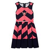 Knit Works Sleeveless Skater Dress - Big Kid and Plus