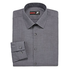 J.Ferrar Easy-Care Stretch Big and Tall Long Sleeve Dress Shirt