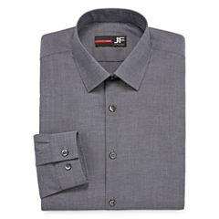 J.Ferrar Easy-Care Stretch Big and Tall Long Sleeve Dress Shirt