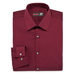 J.Ferrar Easy-Care Stretch Slim Fit Long Sleeve Dress Shirt
