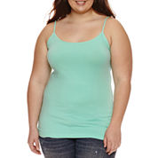 Arizona Favorite Stretch-Cotton Cami - Juniors Plus