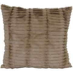 Faux-Fur Decorative Pillow